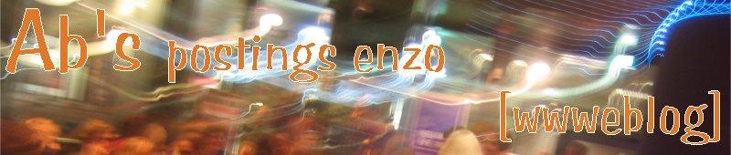 Ab's postings enzo