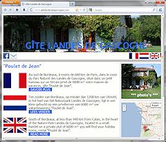 Gite Landes de Gascogne
