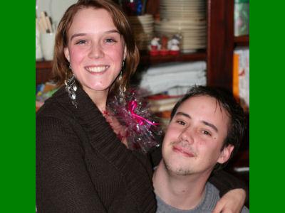 Kerst 2006 Lilian en Eric