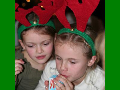 Kerst 2006: Tessa en Denise