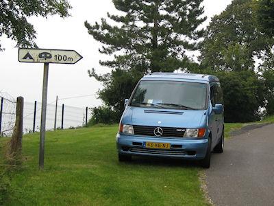 Eerste reis met de Camperbus