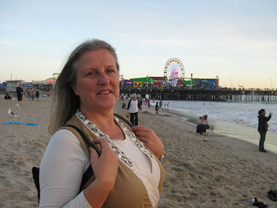 Jeanne in Santa Monica
