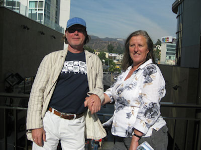 Jeanne en Ab in Hollywood