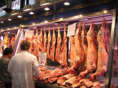 Overdekte markt van Athene