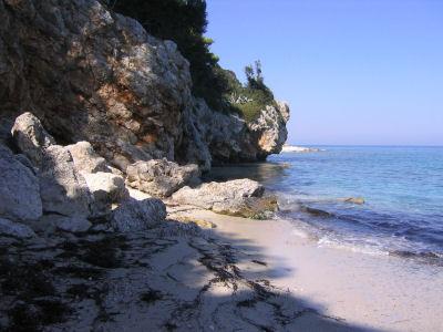 Afgelegen strandje