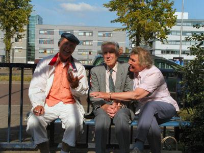 Bijzondere ontmoeting in Delft