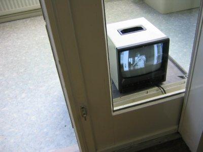 Monitor self portrait